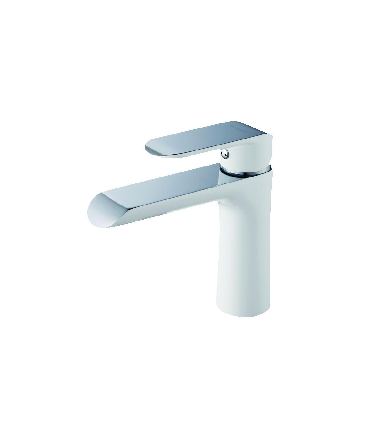 LS-BF1 Bathroom Faucet Chrome White
