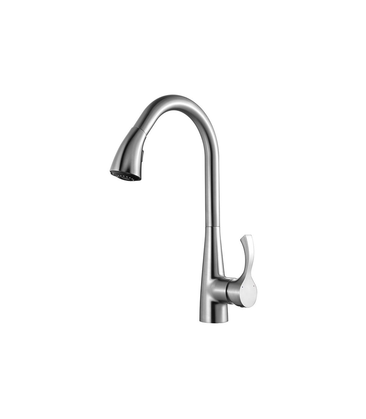 LS-KF2 Kitchen Faucet Brushed Nickel