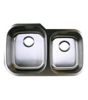 LS-68 Double Bowl Kitchen Sink