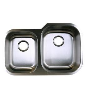 LS-68R Double Bowl Kitchen Sink