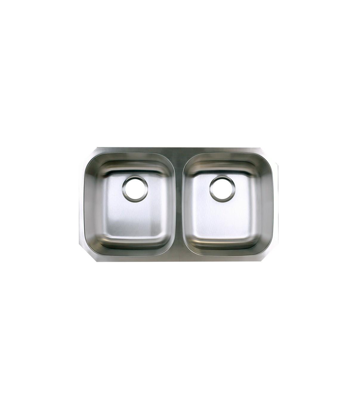 LS 88 Double Bowl Kitchen Sink