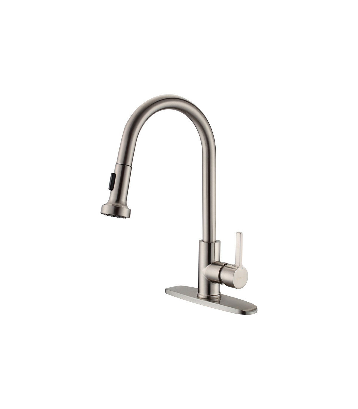 Ls 422002 Pull Down Kitchen Faucet In Brushed Nickel
