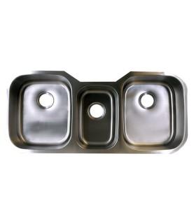 LS-83 Triple Bowl Kitchen Sink